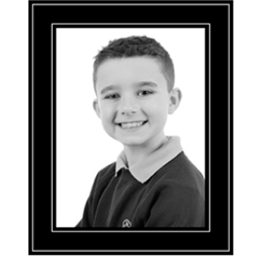School Photograph - 10x8in b+w product