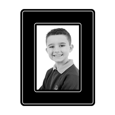 School Photograph - 6x4in b+w product