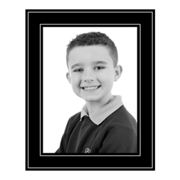 School Photograph - 8x6in b+w product