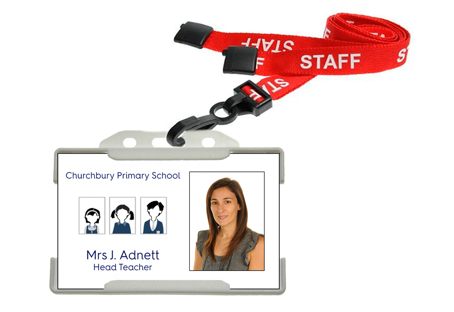 Staff ID Cards and Lanyards
