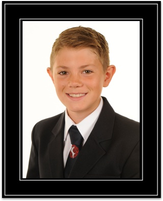 individual school portrait